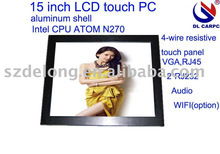 Excellent Quality Desktop Touch Screen 15Inch Office Computer