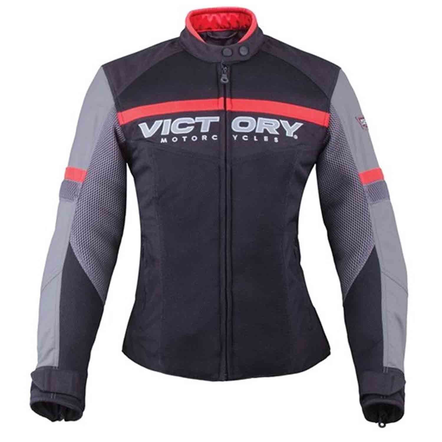 Victory Motorcycle New OEM Women's Skyline Mesh Riding Jacket, Small, 286373702