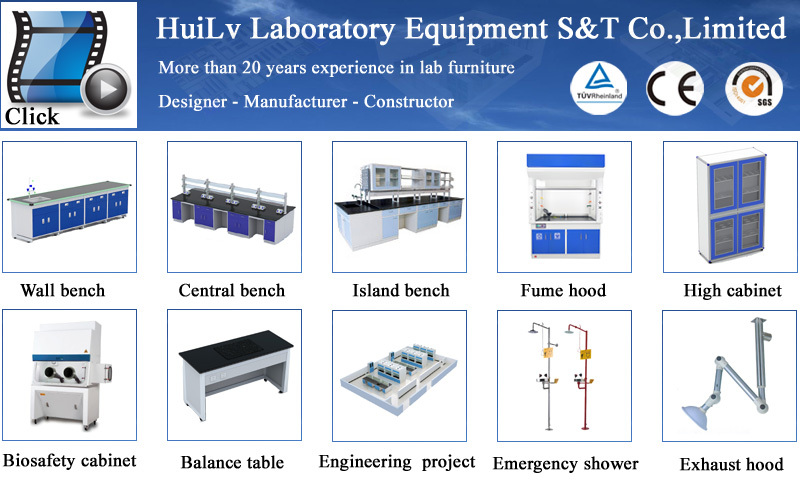 New Fasion Steel Structure Marble Worktop Laboratory