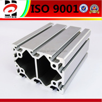 Anodized surface finish T-shape Window door aluminum extrusion profiles