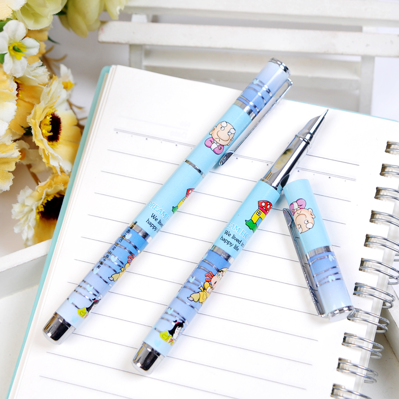 Fountain pen student fountain pen cartoon calligraphy fountain pen thin fountain pen 3166