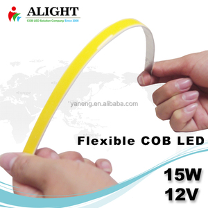 15W 12V flexible led chip 250mm long cob led