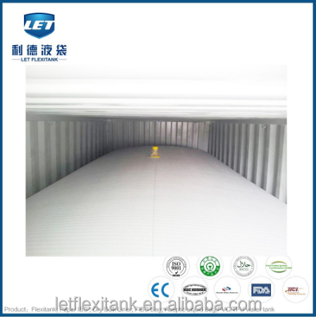 Food grade 20ft container flexitank / flexibag price with high quality
