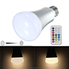 Remote decorative bulbs 10W RGB RGBW RGB WARM WHITE e27 led bulb light