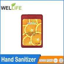 20ml Credit Card hand sanitizer China