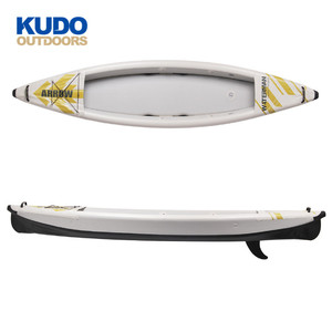 New Products Customized 1 Person Inflatable Drop Stitch Kayak With Paddle