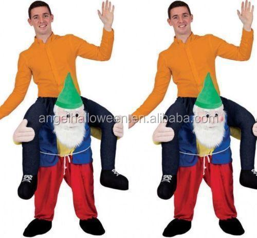 New Fancy Dress Costume Carry Me Bavarian Beer Guy Ride On Oktoberfest Mascot