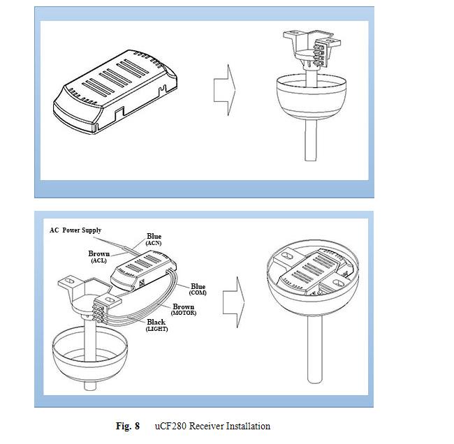 Schema Cablaggio Ventilatore A Soffitto : Popolare wifi rf ventilatore a soffitto lcd kit