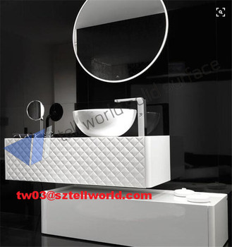 TW Artificial Stone Dining Room Wash Basin Designs