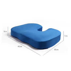 Multifunctional memory foam ergonomic coccyx seat cushion yoga meditation seat cushion wooden sofa foam travel cushions