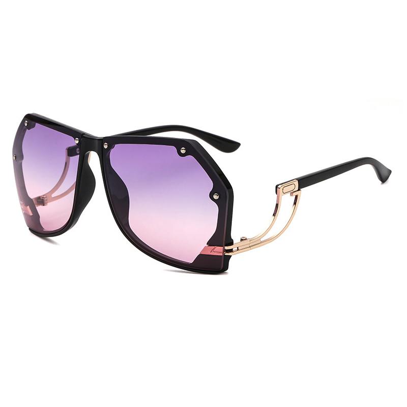GUVIVI 2018 sunglasses ocean color fashion vintage individuality unisex Womens sunglasses trendy Wholesale sunglasses china фото