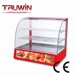 Commercial countertop stainless steel food display warmers
