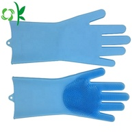 Food Grade Multifunction Silicone Gloves with Brush