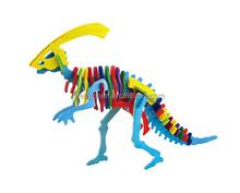 Diy Ahşap Dinozor Puzzle Tanıtım Promosyon Diy Ahşap Dinozor Puzzle