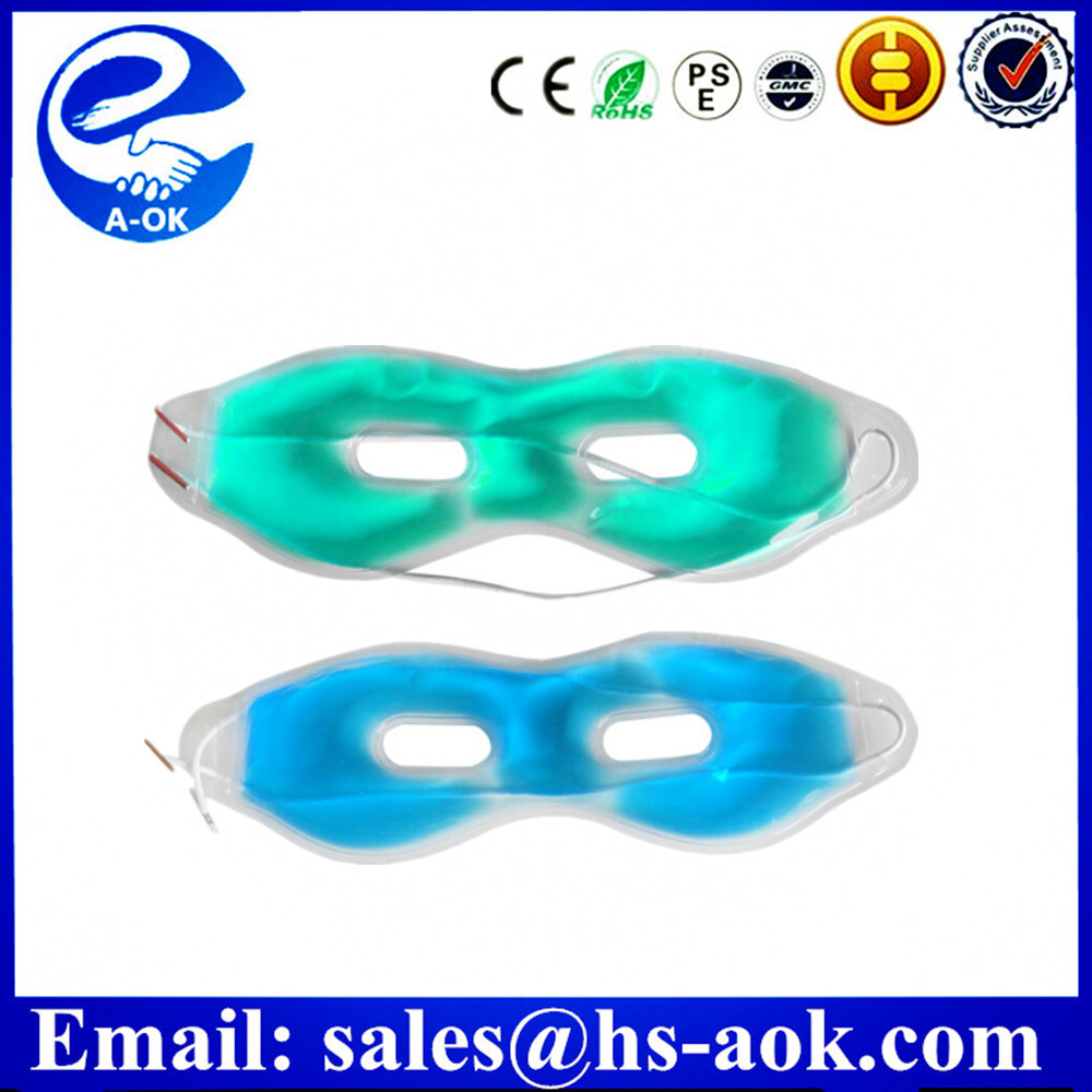 A-OK Sleeping Gel Hot Cold Compress Eye Mask