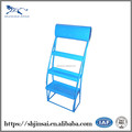 China Leading Manufactory For All Kinds Metal Flooring Supermarket Snack Display Rack