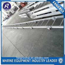 Promotional aluminum one step fixed shore gangway marine ladder