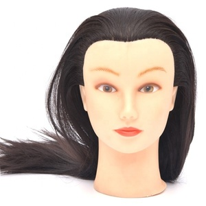 Wholesale Human Hair Training Mannequin heads for Barber Schools Practics