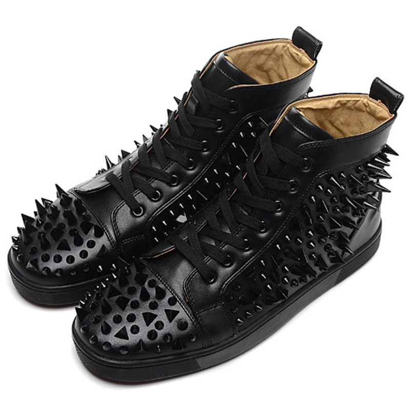 Red Bottom Shoes With Spikes