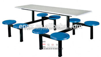 Canteen furniture dining table new model funky restaurant for New model dining table