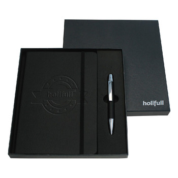 customized company logo possible leather notebook give aways for corporate