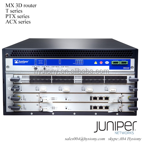 MX240BASE-AC-HIGH MX240 AC BASE Unit includes 4 slot chassis 1 AC Power Supply 1 SCB 1 Bronze RE MX240 BASE BUNDLE AC HIGH POWER