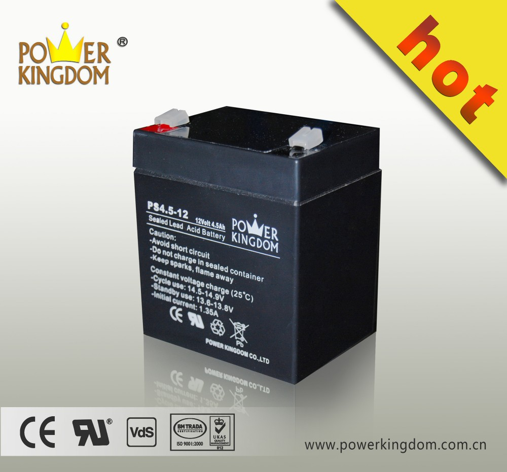 12v 4.5ah battery 12v 4.5ah 20hr battery lead acid battery 12v