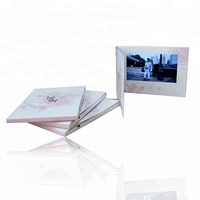 ETG Best Custom 7 Inch Lcd Screen Paper Video Brochure For Advertising