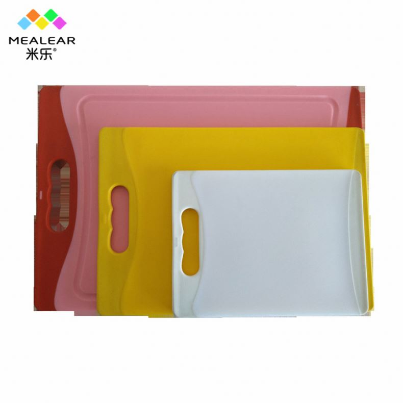 Simple design square anti slip lite cutting board