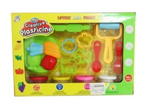 safe material plastic creative mould play dough toys with EN71