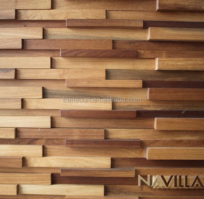 panneaux mural 3d en bois coup pour d coration de maison wp 473 300x300mm autres bois id de. Black Bedroom Furniture Sets. Home Design Ideas