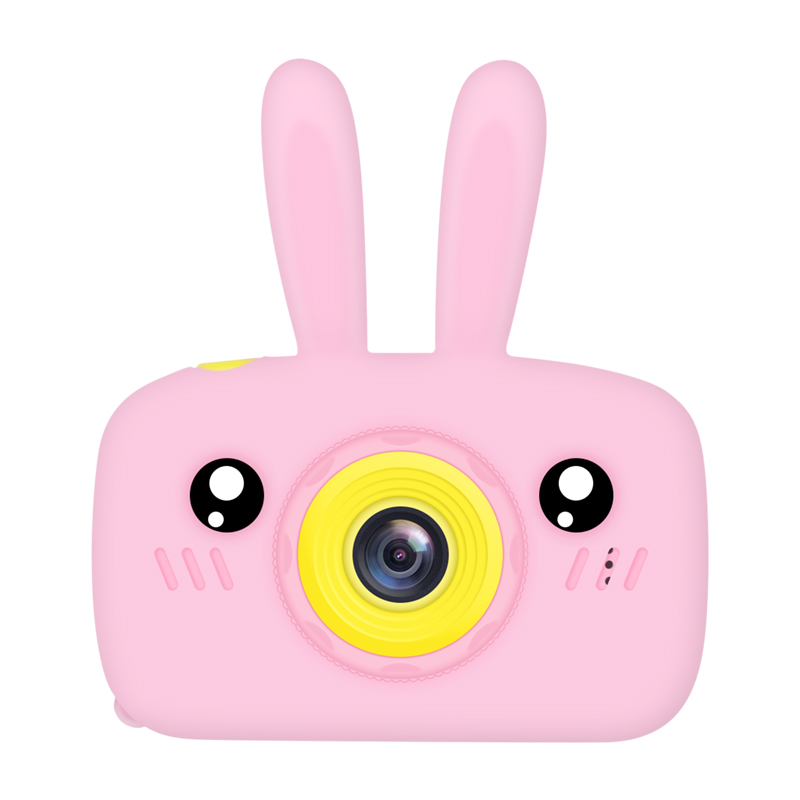 Hot Selling Cartoon 2.0 Inch HD Kids Camera 1080P Digital <strong>Video</strong> With Games Continuous Shoot