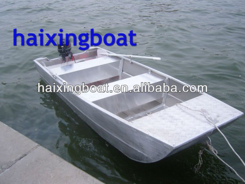 Deep-v 14ft Aluminum Fishing Boat;cabin Fishing Boats