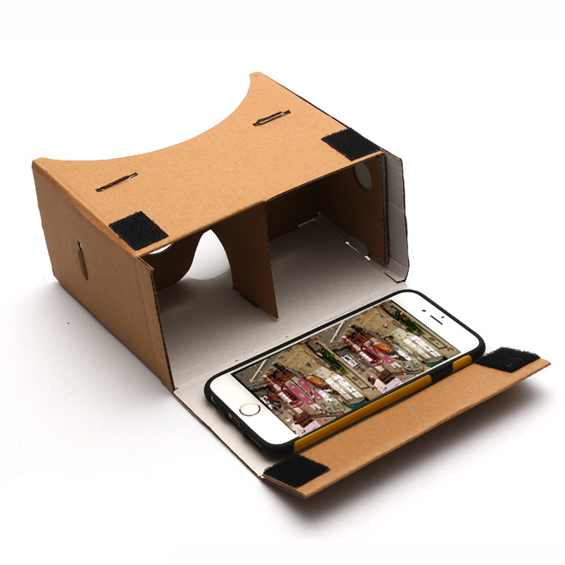 High Quality DIY Google Cardboard Virtual Reality VR Mobile Phone 3D Viewing Glasses for 3D Movies Games Google VR 3D Glasses