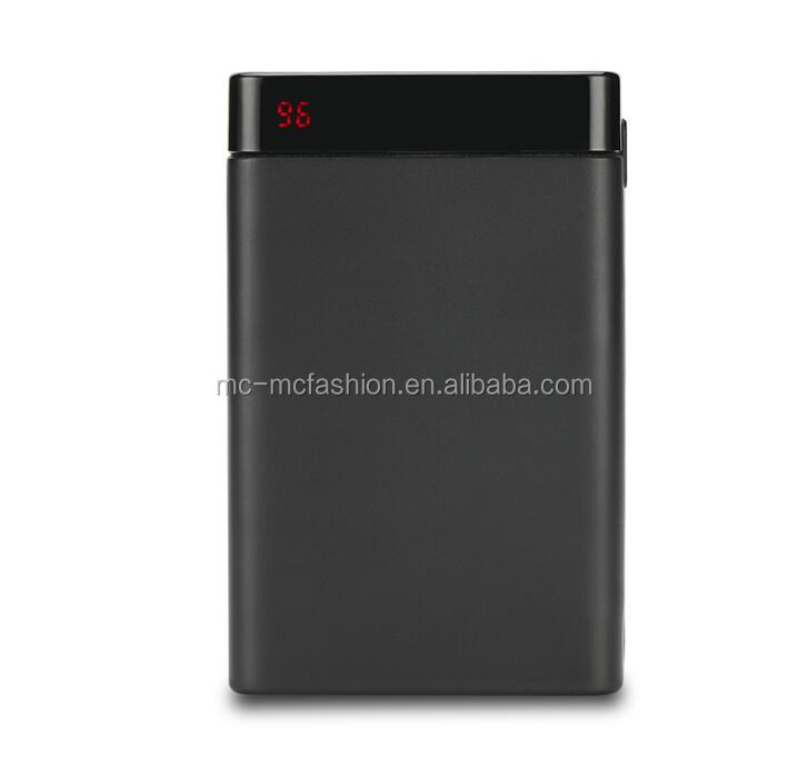 fast charging external power bank, universal powerbank, type c mobile power supply for all smart phone