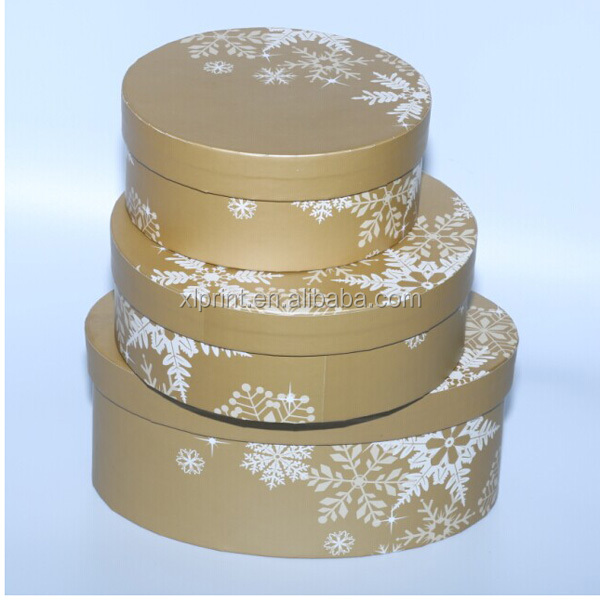 Round tube packaging box for follows