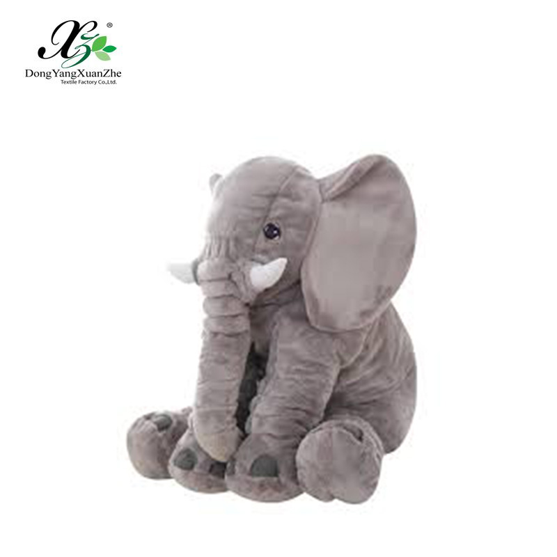Grey Color Animals Plush Doll Toys/Elephant Pillow