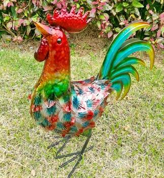 Nuovi all 39 ingrosso giardinaggio metallo animali ferro for Ornamenti giardino