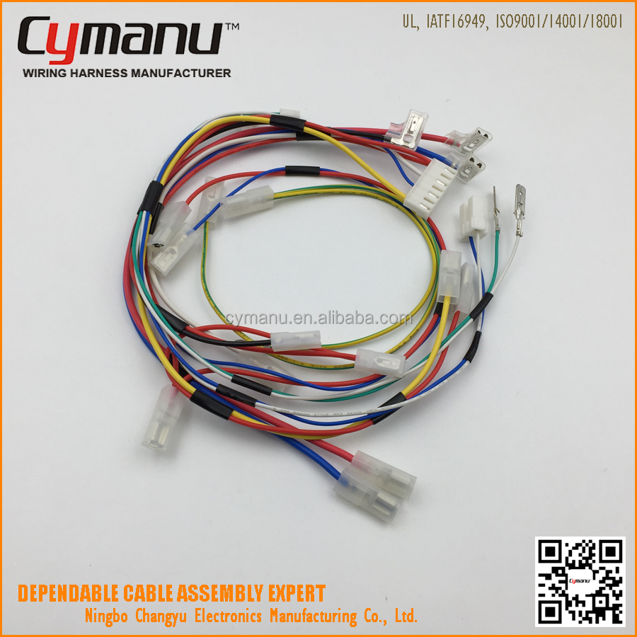 Ul Approved Dishwasher Custom Wiring Harness Cable Assembly Buy Manufacturer Harnesscustom Wire Product On Alibabacom