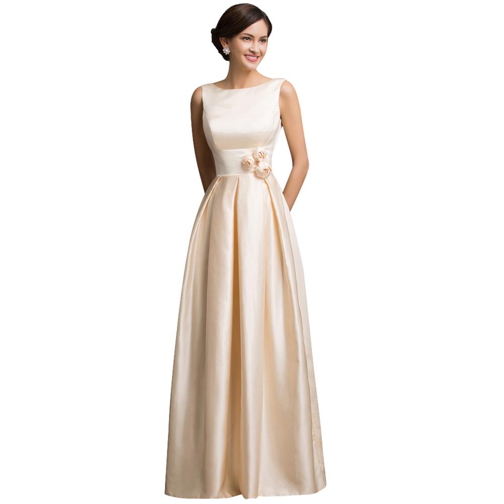 432ba6560 مثير الحرير المشمش أنيقة طويلة فساتين السهرة 2016 جديد وصول عشاء اللباس  الرسمي