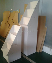 Cardboard Floor Display - Tiered Dump Bin