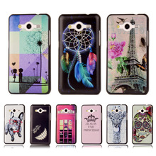 Ultra Thin Cartoon Hard Cover For Samsung Galaxy Core 2 G355 G355h G3559 Colorful Printing Plastic Back Plastic Back Phone Case