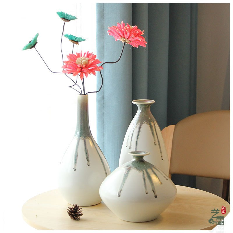 Hand painting flower porcelain home decor vase jingdezhen ceramic