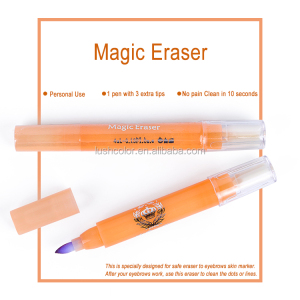 Eyebrow Tattoo Accessories Magic Eraser For Skin Marker Pen