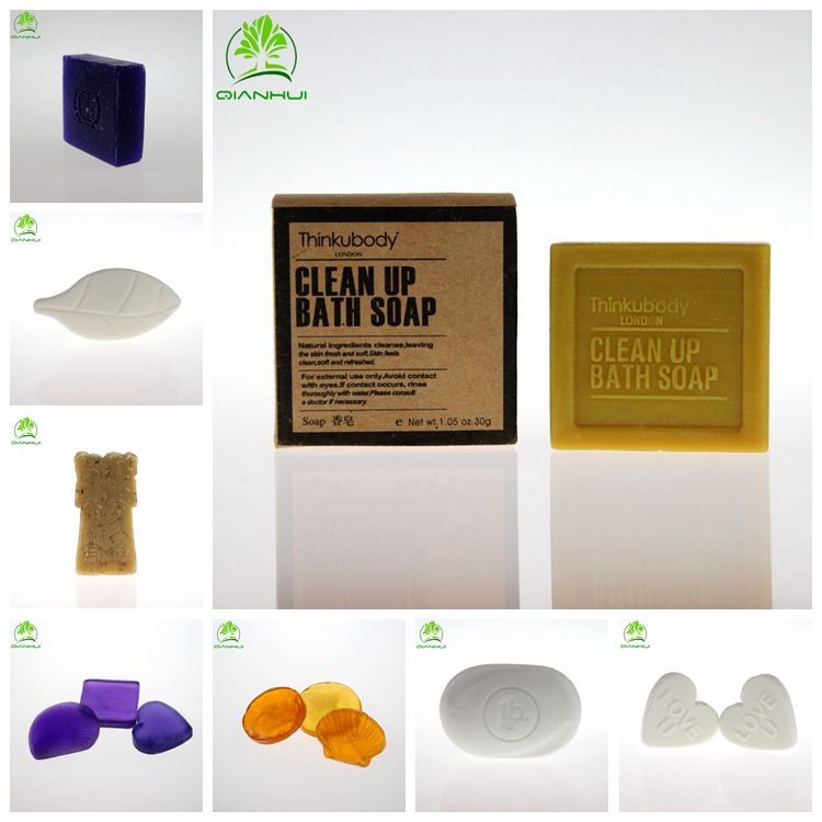 Soap pure natural 5 star hotel/factory direct price hotel soap 30g/3-5 star hotel soap shampoo set