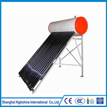 Doypack Stand Up Pouch ce low pressure vacuum tubes solar water heater Rooftop Compact Low Pressure Solar Water Heater