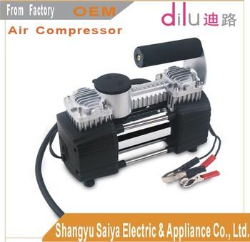 Dc 12v Saca Car Air Compressor Heavy Duty Air Compressor Double ...