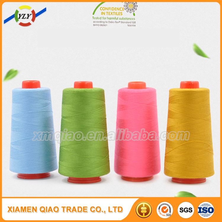 Trade Assurance 100 polyester sewing thread for shoe making 20/2