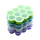 Silicone Egg Bites Molds for Baby food Freezer Trays With Lid Ice Cube Trays Silicone Food Storage