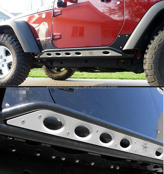 Horwin Style Rock Slider Side Step Nerf Bar Suited For Jeep JK Wrangler 4  Doors